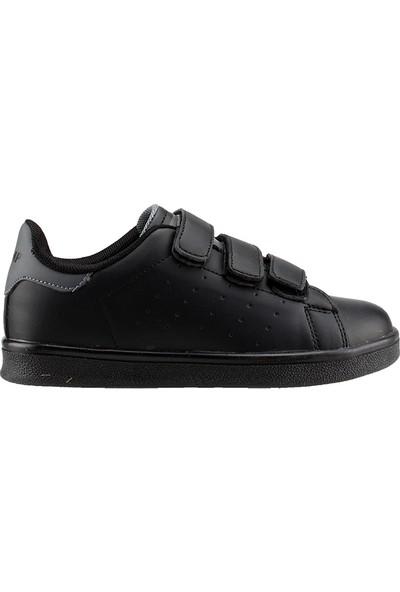 Jump 19422-H Siyah Günlük Yürüyüş Kız/Erkek Çocuk Spor Ayakkabı