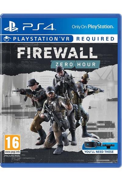 Firewall Zero Hour VR PS4 Oyun