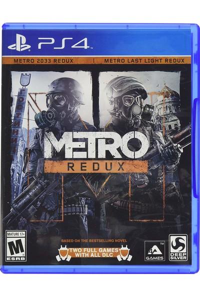 Metro Redux PS4 Oyunu