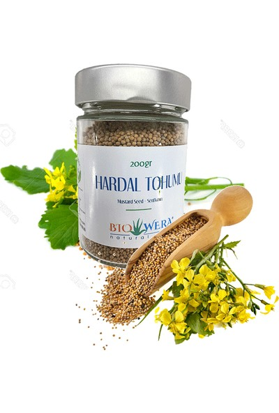 Biowera Naturel Care - Hardal Tohumu