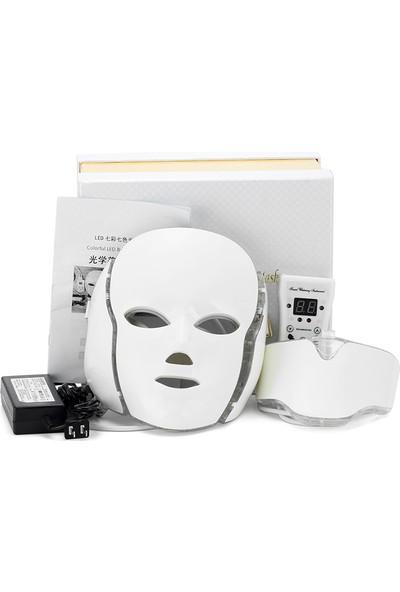 Ymr Led Yüz Ve Boyun Maskesi / Lüx Ve Üstün Özellikli