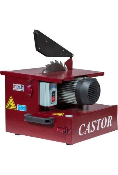 Atech Castor Tozsuz Parke Kesme Makinesi