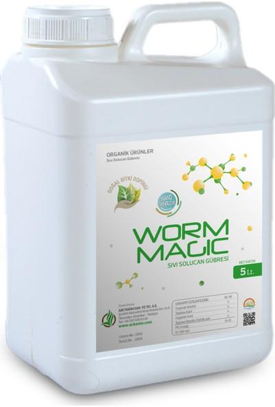 Arı Tarım Worm Magic Sıvı Solucan Gübresi - 5 Lt.