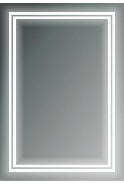 Dibanyo Ledli Ayna 60X60 Cm