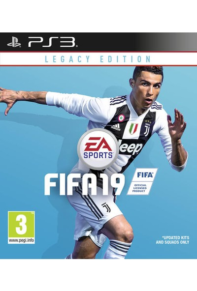 FIFA 19 Legacy Edition PS3 Oyun