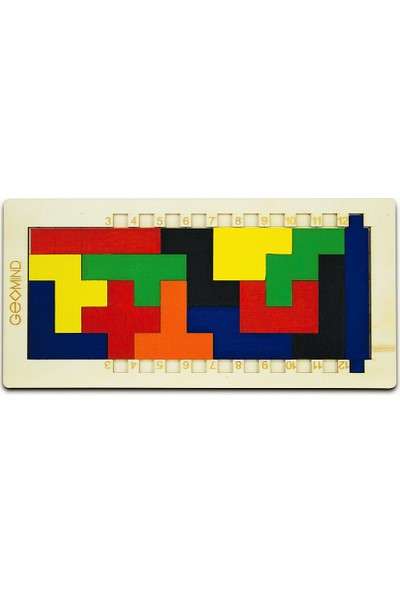 Geomind Geomınd Eğitici Geometrik Akıl Ve Zeka Oyunu 4-99 Yaş