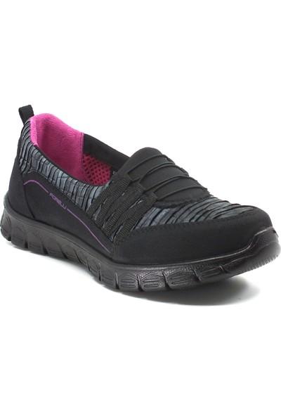Forelli Ortopedik Rahat Hafif Kadın Ayakkabı 61024