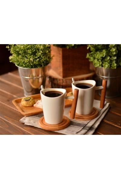 Bambum Rigate 6 Parça Kahve Servis Seti B0419