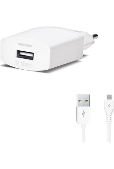 Ttec 2SCC752 Compact Micro USB Seyahat Şarj Cihazı 1.000mA