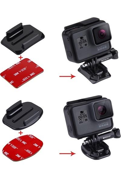 Puluz Gopro Hero Kamera 3Mm , 2 Düz 2 Eğimli Bağlantı Aparatı