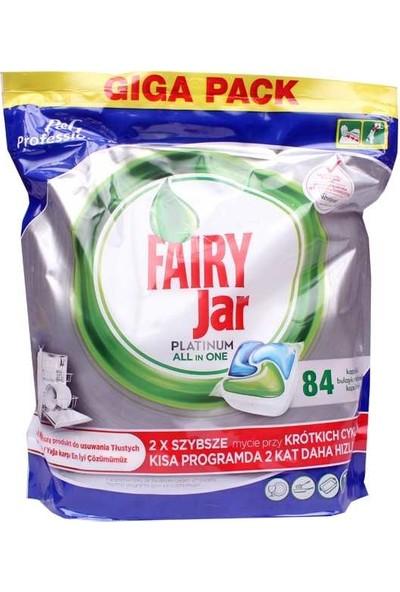 Fairy Jar Platinum Bulaşık Makinesi Kapsülü 84 Adet