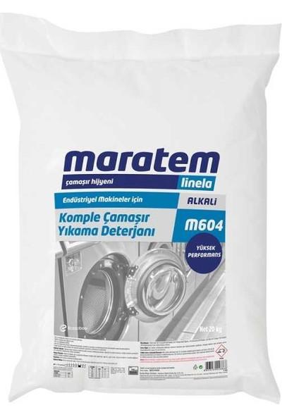 Maratem M604 Komple Yıkama Çamaşır Deterjanı Yüksek Performanslı 20kg