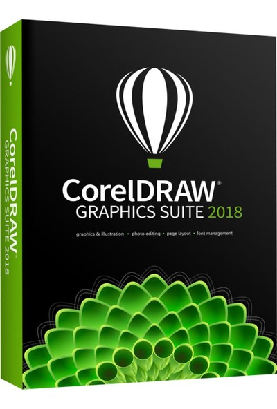 CorelDRAW Graphics Suite 2018 Ev ve Öğrenci Paketi