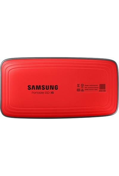 Samsung X5 ThunderboltTM3 2TB 2800/2300MB/s Taşınabilir SSD MU-PB2T0B/WW