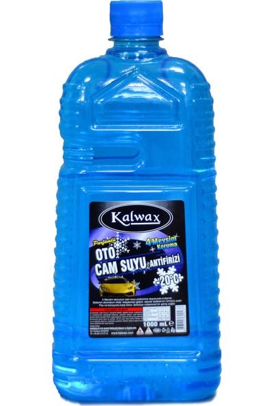 Kalwax Kışlık Cam Suyu Antifrizi 1 lt. 20 Adet -20 °C Parfümlü