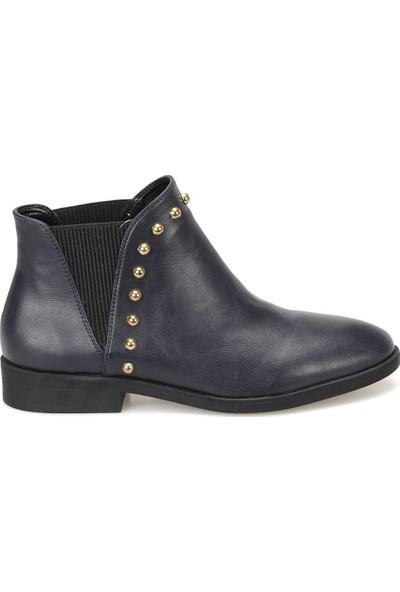 Miss F Dw18066 Lacivert Kadın Dress Ayakkabı