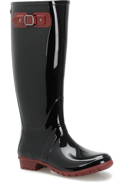 Igor W10134 Combi-025 Bordo Kadın Yağmur Çizmesi