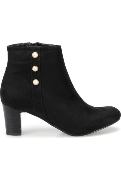 Miss F Dw18062 Siyah Kadın Basic Dress