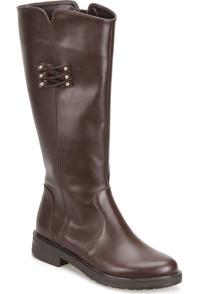 Butigo 18K-089 Kahverengi Kadın Çizme