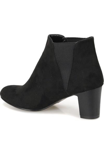 Miss F Dw18063 Siyah Kadın Basic Dress