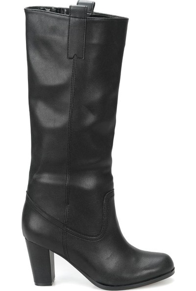 Miss F Dw18095 Siyah Kadın Basic Dress