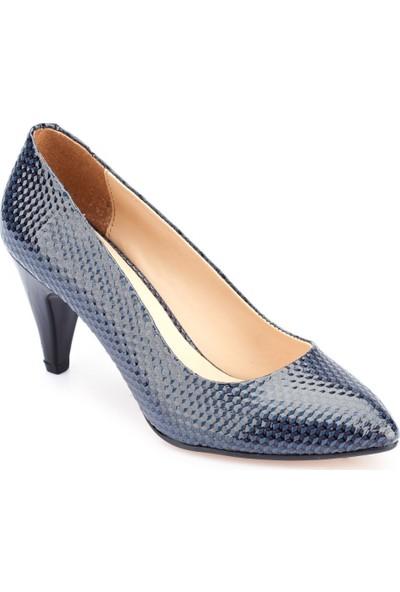 Polaris 82.309023Yz Bordo Kadın Gova Ayakkabı