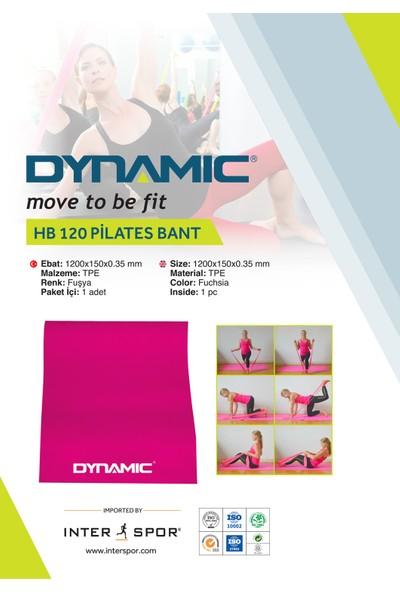Dynamic Hb 120 Pılates Band - 0,35Mm Fuşya