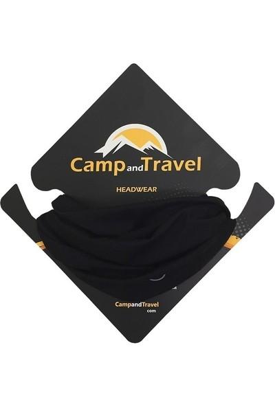 CampAndTravel Native Black Bandana