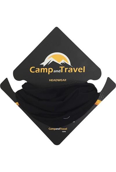 CampAndTravel Solid Navy Bandana