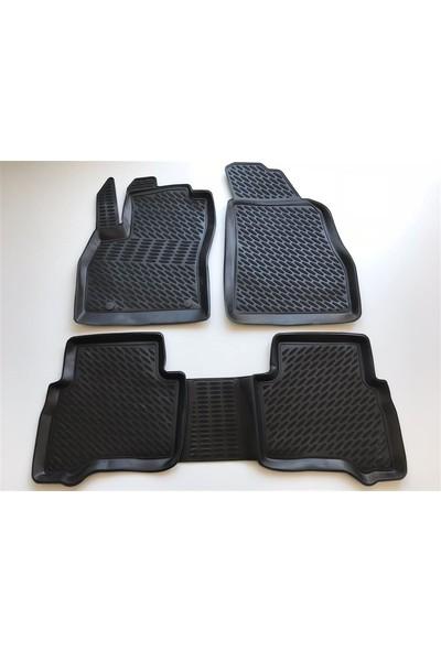 Replax Fiat Fiorino 3D Havuzlu Paspas 2008-2018 Arası Siyah
