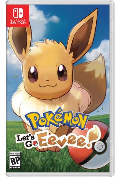Pokemon: Let's Go, Eevee! Nintendo Switch Oyun