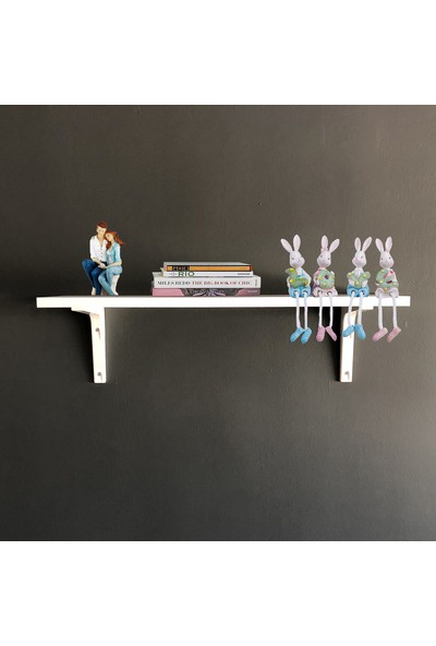 Bino Tekli Raf Kitaplık Duvar Rafı Çocuk Odası Rafı kütüphane mutfak rafı banyo rafı dekoratif raf