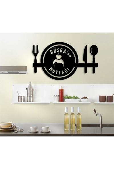 Homecept X'in Mutfağı Kişiye Özel İsimli Mutfak Duvar Tablosu