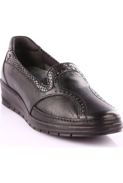 Forelli 25109 Kadın Casual Ayakkabı Siyah