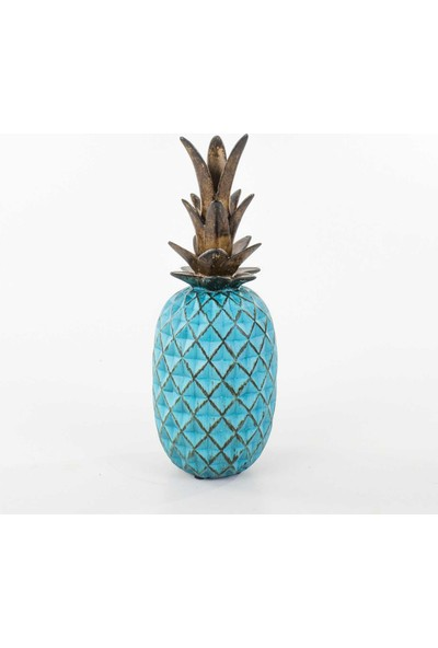 Piyop Mavi Ananas Dekor 13X35 Cm