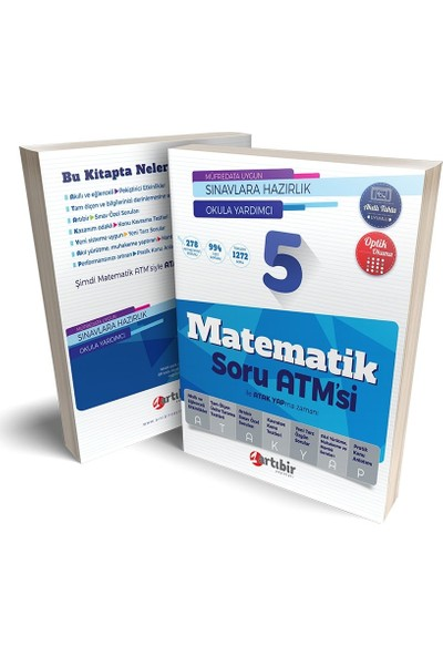 Artıbir Yayınları 5. Sınıf Matematik Soru Atm'Si