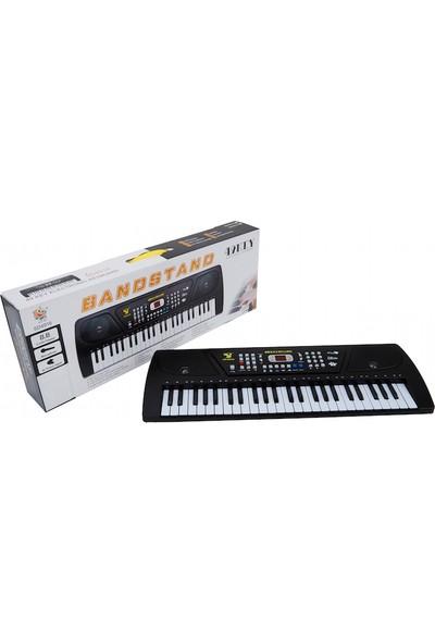 Bircan Mikrofonlu 49 Tuşlu Org Çocuk Piyano Led Ekran