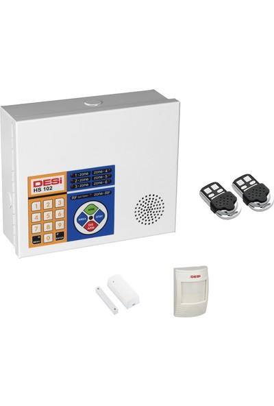 Desi Wtks Alarm Sistemi Sabit Hat Telefon Aramalı