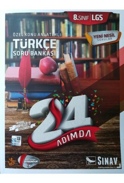 Sınav Dergisi Yayınları Lgs 8. Sınıf Türkçe 24 Adımda Özel Konu Anlatımlı Soru Bankası 1