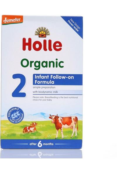 Holle 2 Organik Devam Sütü 600 gr