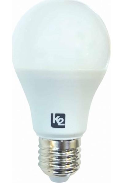 K2 15W E27 Led Ampul Beyaz