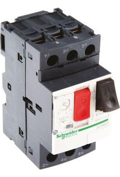 Schneider Electric Gv2Me10 - Gv2 Serisi Motor Koruma Şalteri 4-6,3A