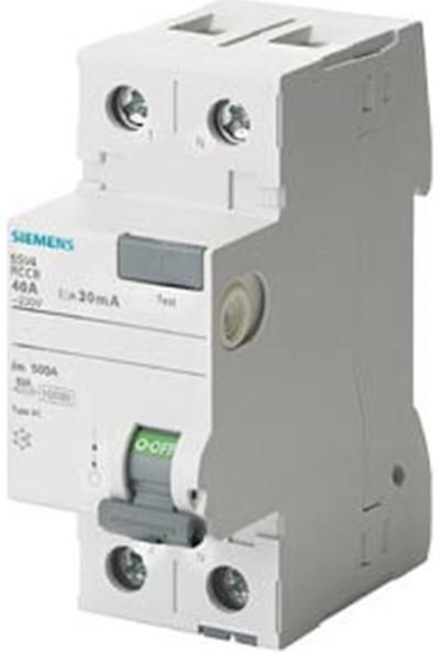 Siemens 5Sv4312-0 - 1X25A 30Ma Kaçak Akım Rölesi - 70Mm