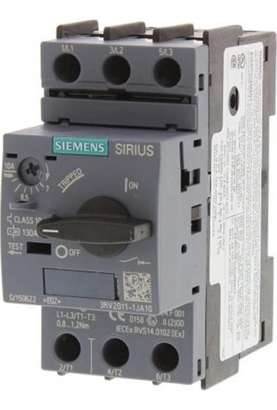 Siemens 3Rv2011-1Ja10 - Sirius 3Rv2 Motor Koruma Şalteri 100Ka 7-10A