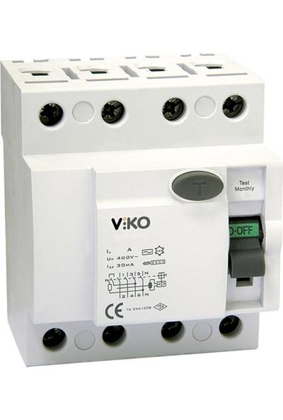 Viko Vtr4-40300 - 4X25A 300Ma Kaçak Akım Rölesi