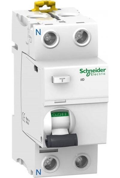 Schneider Electric A9R41263 - İıd Ac Serisi 2X63A 30Ma Kaçak Akım Rölesi