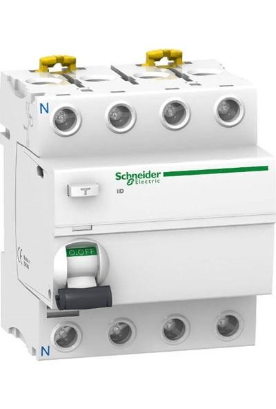 Schneider Electric A9R11480 - İıd Si Serisi 4X63A 30Ma Kaçak Akım Rölesi