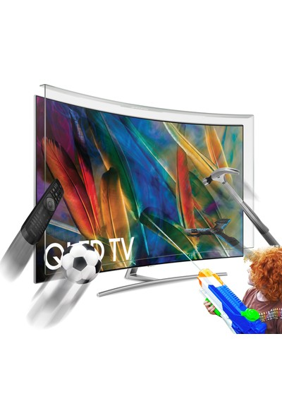 Notvex 65 İnç 165 Ekran Curved Tv Ekran Koruyucu