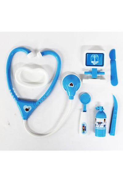Hobi Doktor Seti 7 Parça Mavi Küçük Kutuda