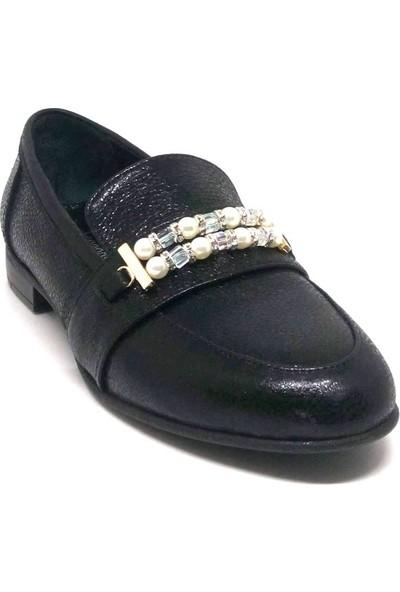 Shop And Shoes 001-0861501 Bayan Ayakkabı Siyah